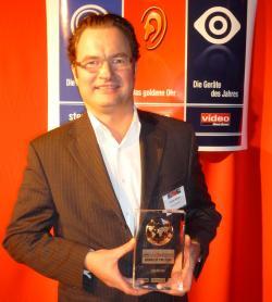 """Gunter Kürten und der Award """"Brand of the Year 2010"""""""