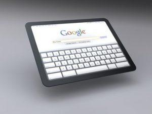 """Google Tablet """"GPad"""""""